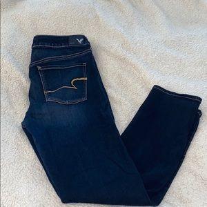 Like new American Eagle Skinny Jeans Size 14